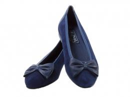 Zinnia Arabella, Shown here in Navy Blue