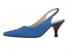 Zinnia Kate, Shown here in Cobalt Blue